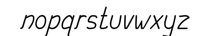 Aishwa Font LOWERCASE