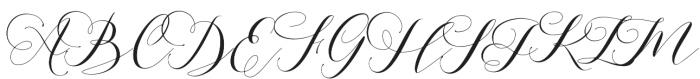 Aidan otf (400) Font UPPERCASE