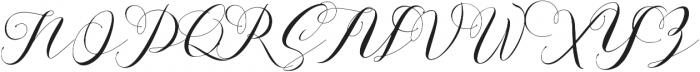 Aidan ttf (400) Font UPPERCASE