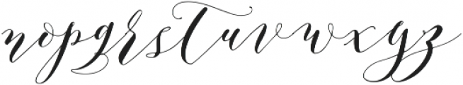 Aidan ttf (400) Font LOWERCASE