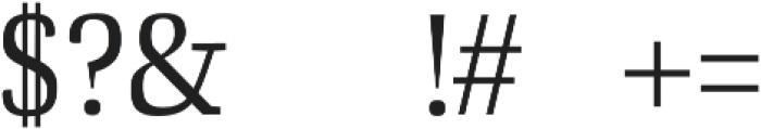 Ailish otf (400) Font OTHER CHARS