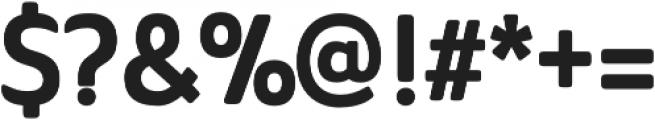 Ainslie Sans otf (700) Font OTHER CHARS