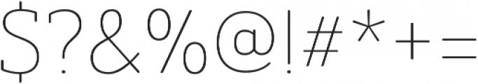 Ainslie Slab otf (100) Font OTHER CHARS