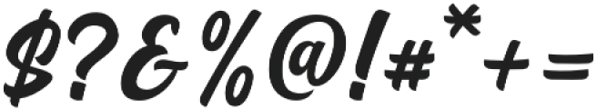 Airates Script otf (400) Font OTHER CHARS