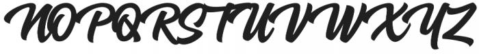 Airates Script otf (400) Font UPPERCASE