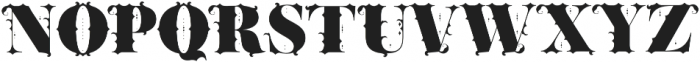 AiresFontBold Bold otf (700) Font LOWERCASE