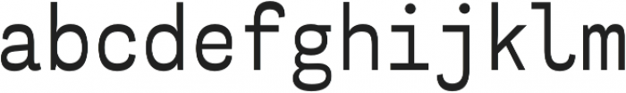 Airo Light otf (300) Font LOWERCASE