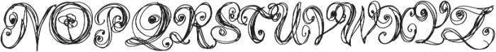 Airy Regular otf (400) Font UPPERCASE