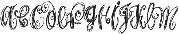 Airy Regular otf (400) Font LOWERCASE