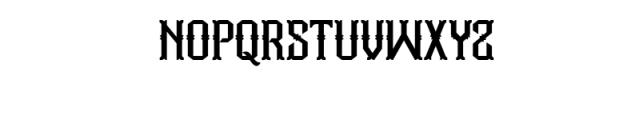 Aidah Typeface Font UPPERCASE
