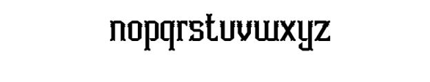 Aidah Typeface Font LOWERCASE