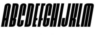 Ainsdale Bold Italic Font UPPERCASE