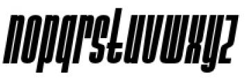 Ainsdale Bold Italic Font LOWERCASE