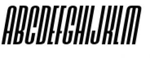 Ainsdale Medium Italic Font UPPERCASE