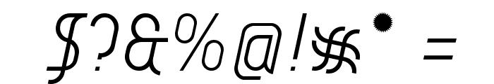 AI kelso LI Font OTHER CHARS