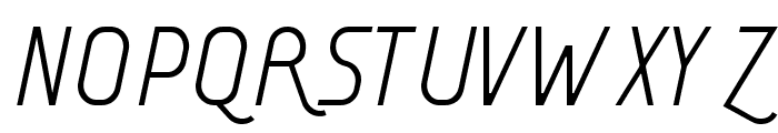 AI kelso LI Font UPPERCASE
