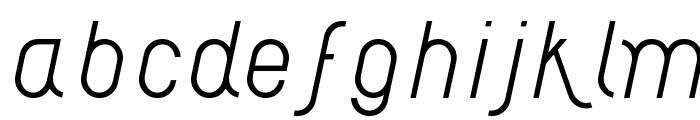 AI kelso LI Font LOWERCASE