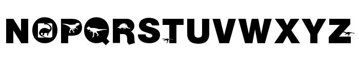 AIDino-Heavy Font UPPERCASE