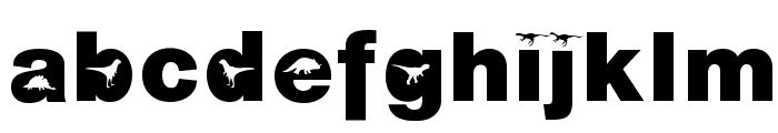 AIDino-Heavy Font LOWERCASE