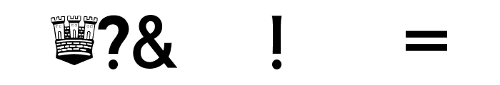 AIK-ErikHolm Font OTHER CHARS