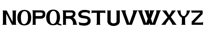 AIK-ErikHolm Font UPPERCASE