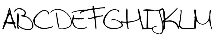 Aida Garmo - Scrap Rounded Font UPPERCASE