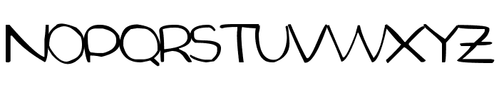 Aida Garmo - Small Size Font UPPERCASE
