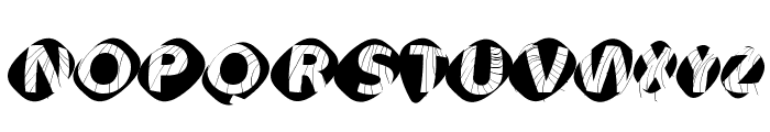 AidaOopsXtra Font UPPERCASE