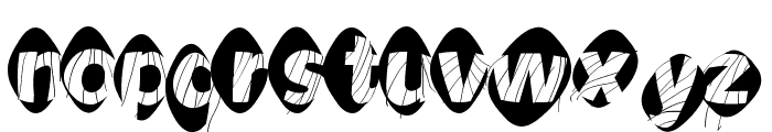 AidaOopsXtra Font LOWERCASE
