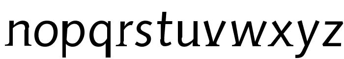 AidaSerifObliqueMedium Font LOWERCASE