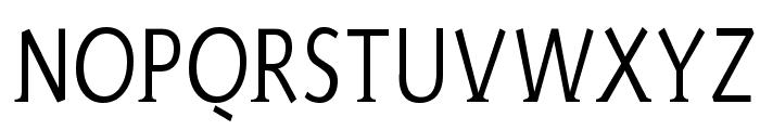 AidaSerifa-Condensed Font UPPERCASE