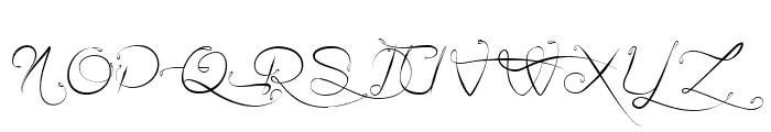 Ail et Fines Herbes Italic Font UPPERCASE
