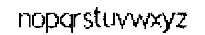 Aileenation Font LOWERCASE