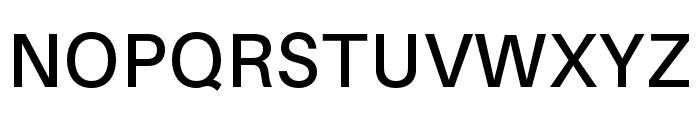 Aileron SemiBold Font UPPERCASE