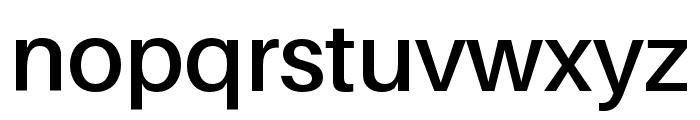 Aileron SemiBold Font LOWERCASE