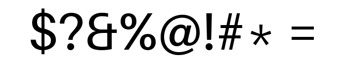 Aileron Font OTHER CHARS