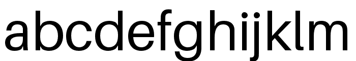 Aileron Font LOWERCASE