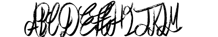 Air Heads Font UPPERCASE