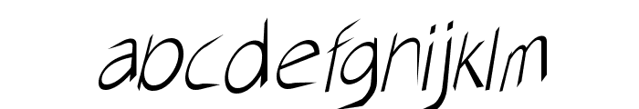 AirCut Light Font LOWERCASE