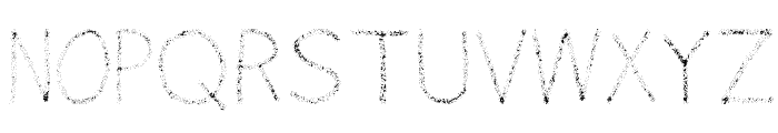 Airbrush Font UPPERCASE