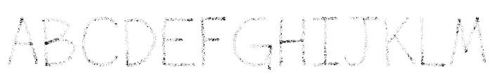 Airbrush Font LOWERCASE