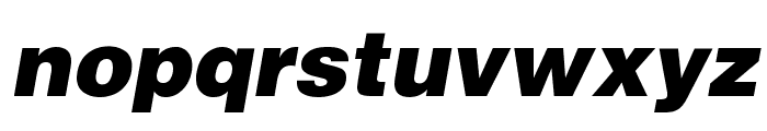 Airbus Special Font LOWERCASE