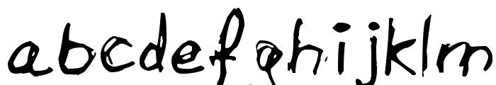 Aircloud Font LOWERCASE