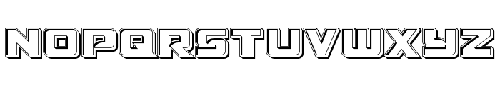 Aircruiser Engraved Font LOWERCASE