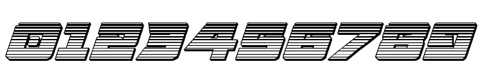Aircruiser Gradient 3D Italic Font OTHER CHARS