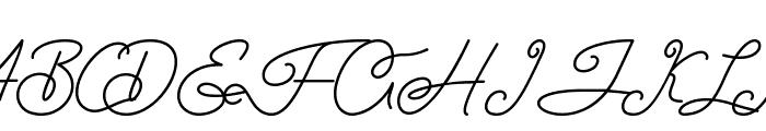 Airlangga Font UPPERCASE