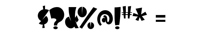 Airmole-Regular Font OTHER CHARS