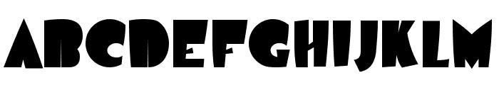 Airmole-Regular Font UPPERCASE