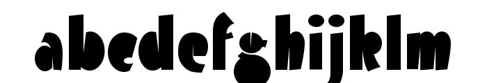 Airmole-Regular Font LOWERCASE