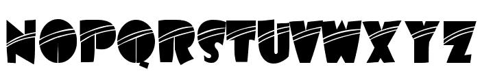 AirmoleStripe-Regular Font UPPERCASE